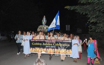 Candle light March
